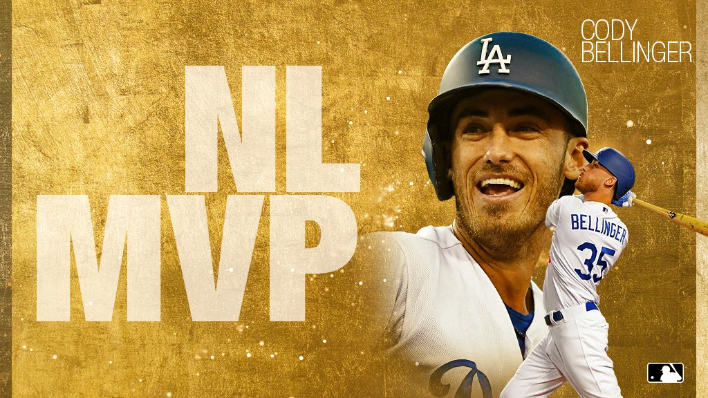 The Most Valuable Player in the NL: Cody Bellinger. https://t.co/4fIAbBbwgV