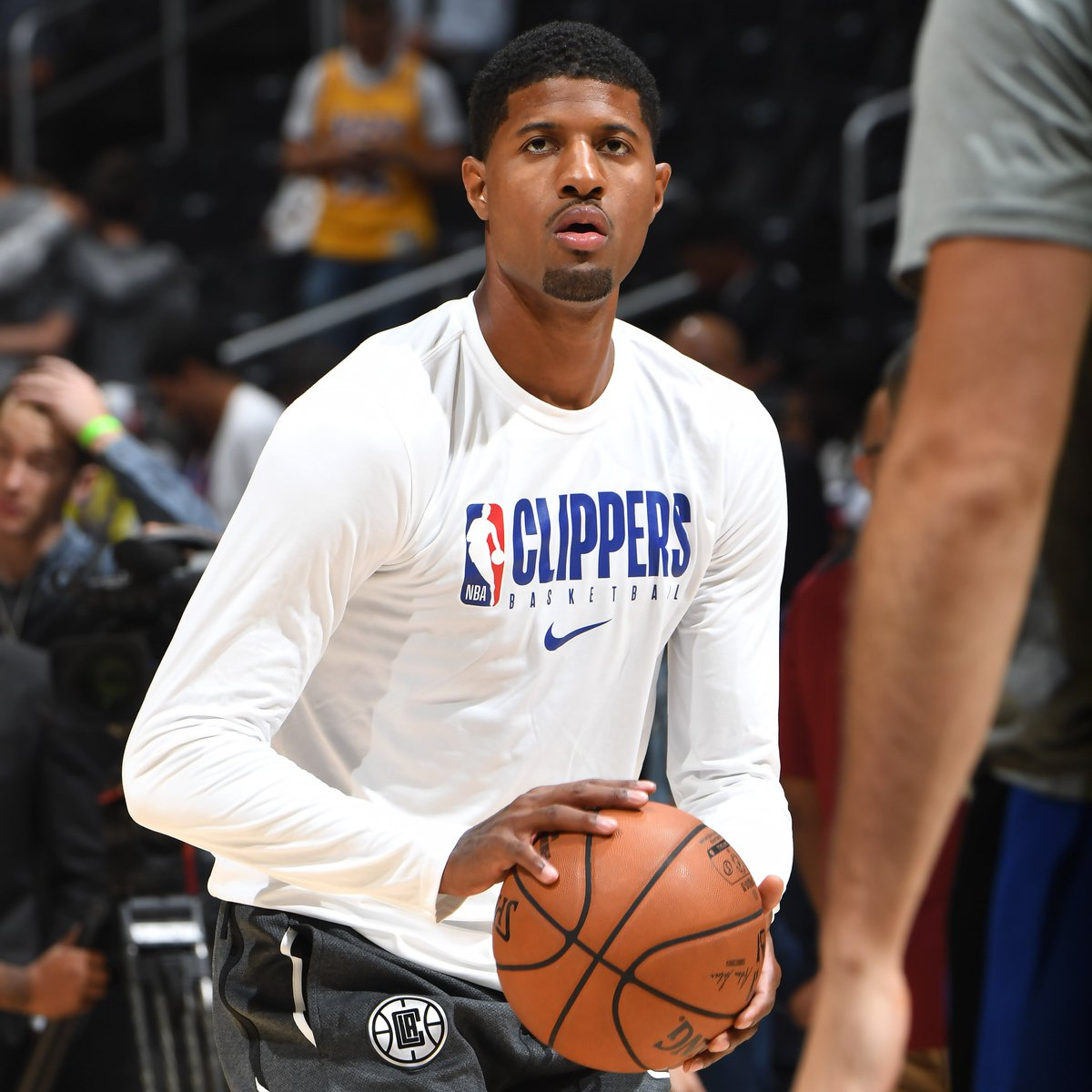 PG is back! 👏  Paul George makes his @LAClippers debut tonight! How many fantasy points will he drop?