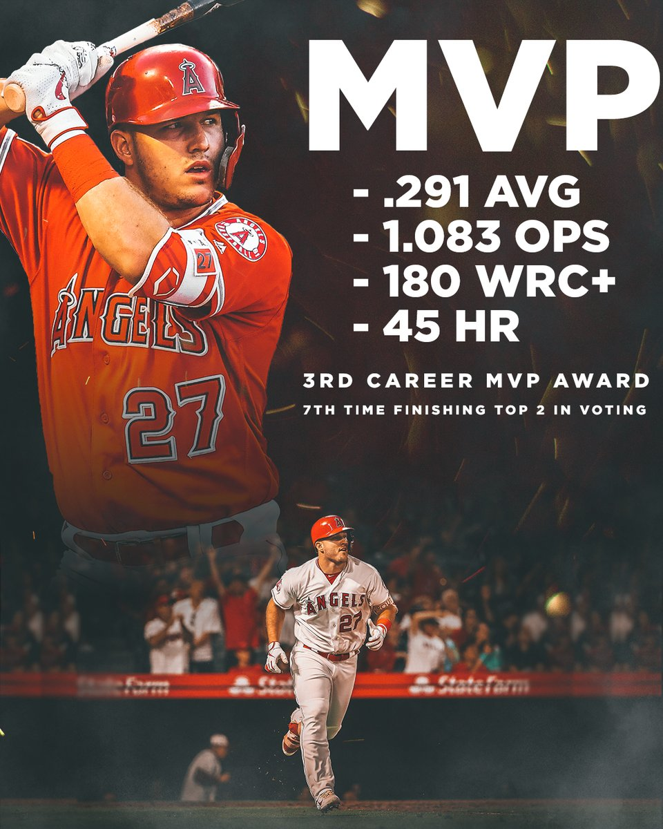 @Starting9's photo on Mike Trout