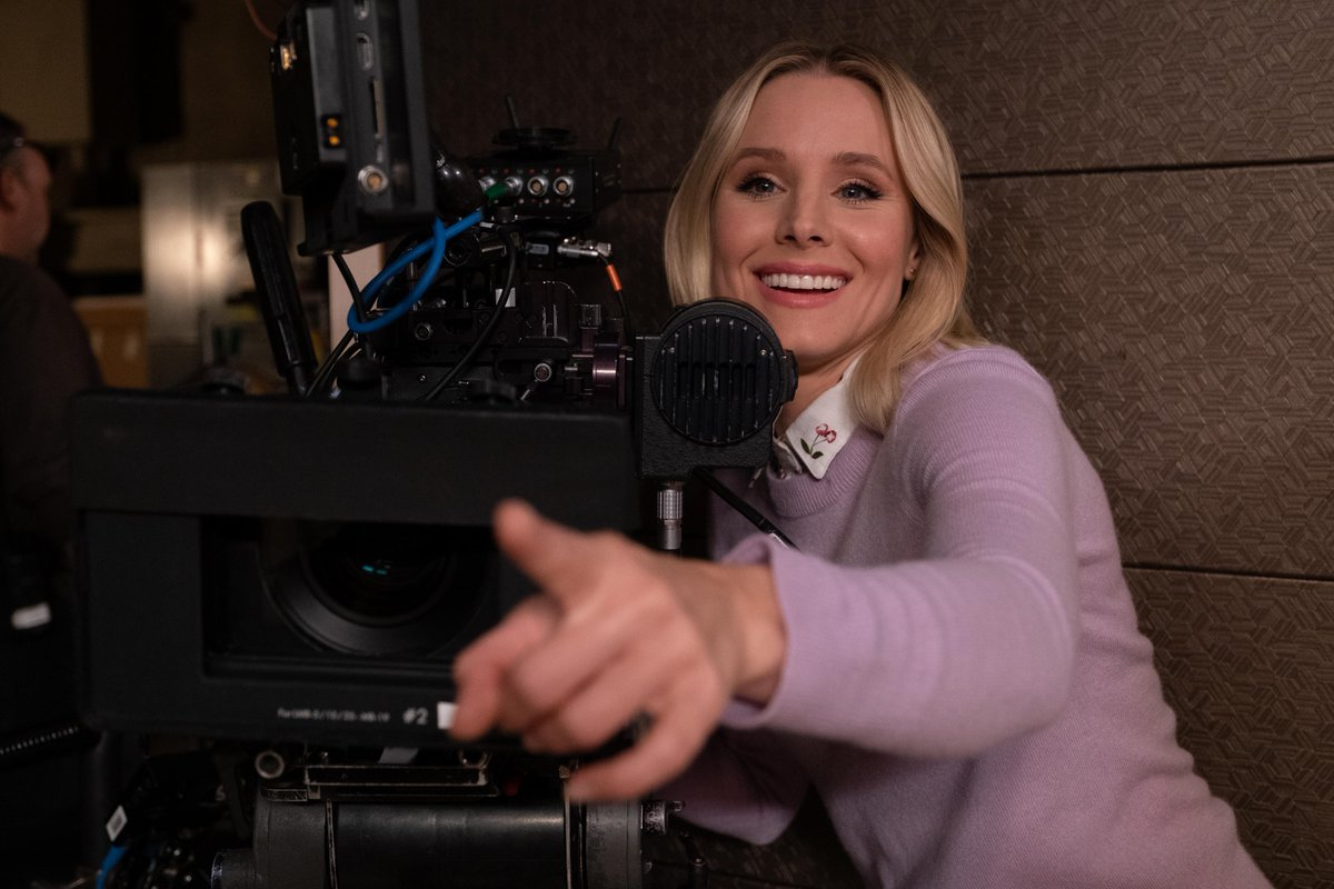 Cant stop Shellstrop. Did you know @KristenBell directed tonights episode of #TheGoodPlace?!