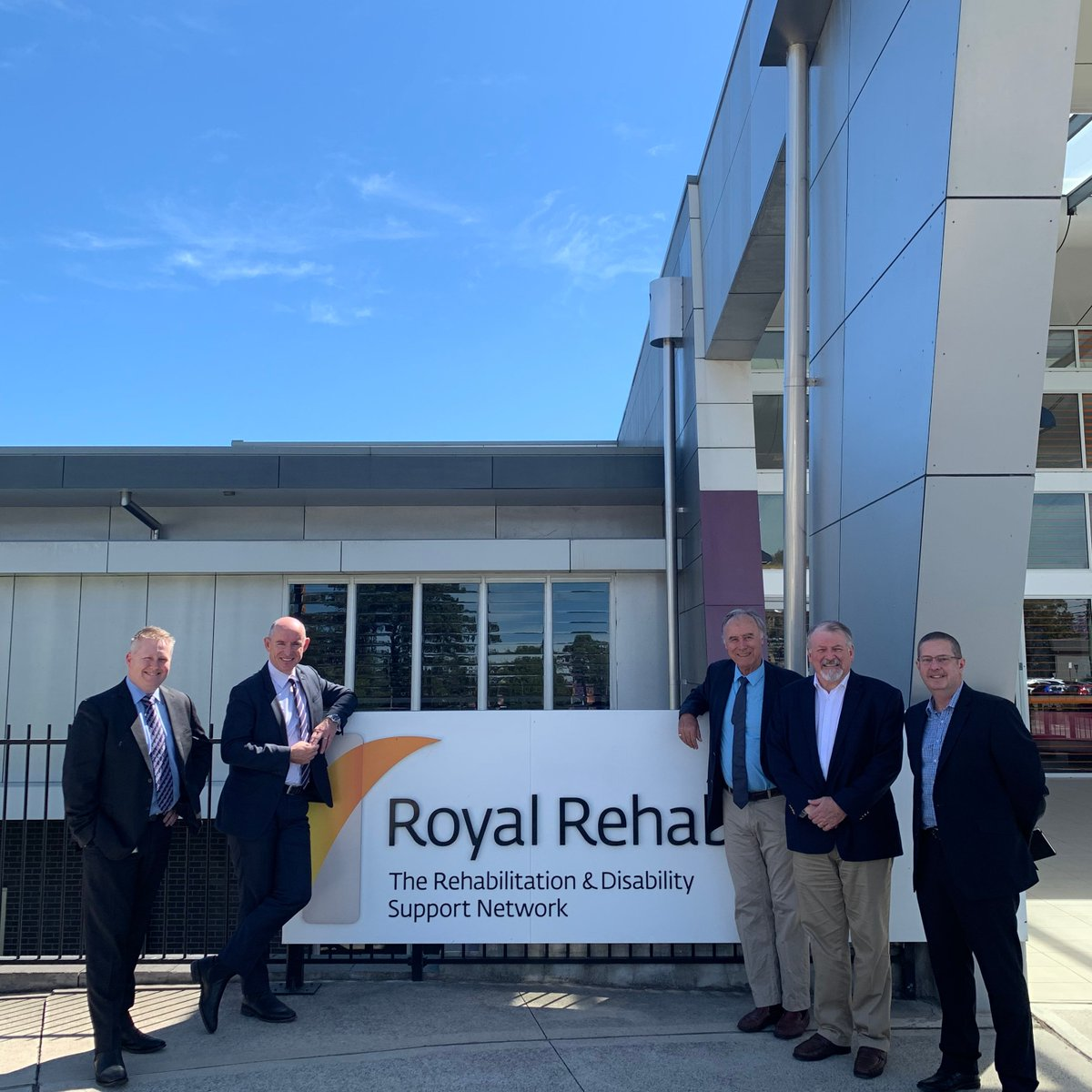 Stuart Robert Mp On Twitter A Truly Amazing Visit To The Royal Rehab In Ryde Sydney With Exceptional Local Member John Alexander Hard To Believe Royal Is 120 Years Old 120royalrehab