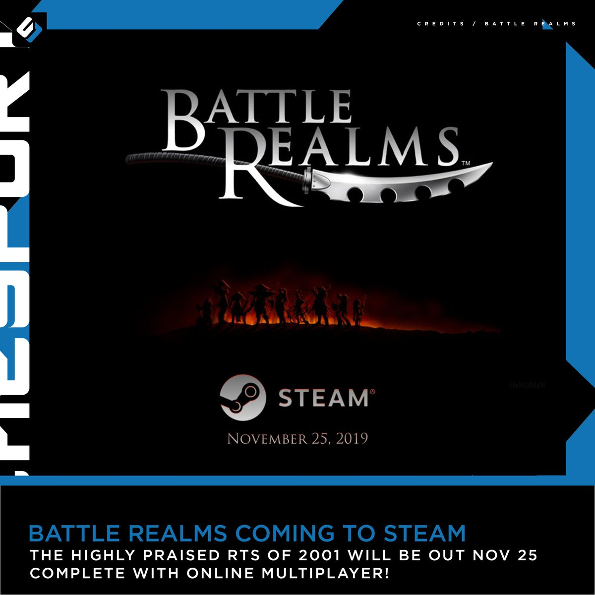 This is not a #FlashbackFriday #BattleRealms will be up on Steam as an early access title complete with multiplayer support! <br>http://pic.twitter.com/VRWXsxWetj