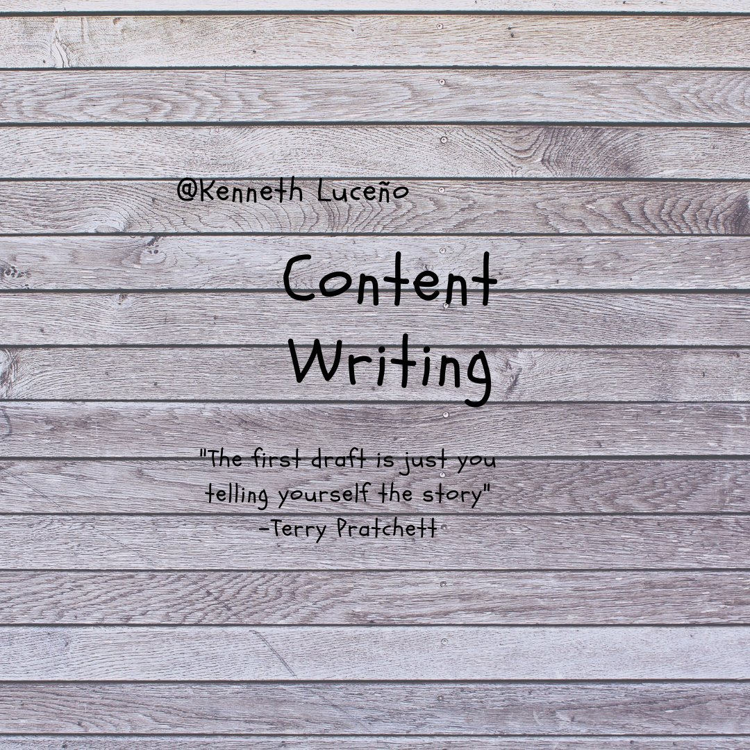 Content writing is a form of online writing which is closely linked to web marketing campaigns. This means creating the writing which appears on websites that are designed to sell or promote a specific product. #ContentWriter <br>http://pic.twitter.com/J6UnMY3srE