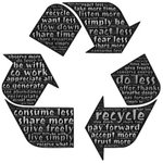 Image for the Tweet beginning: Do you put your recycling
