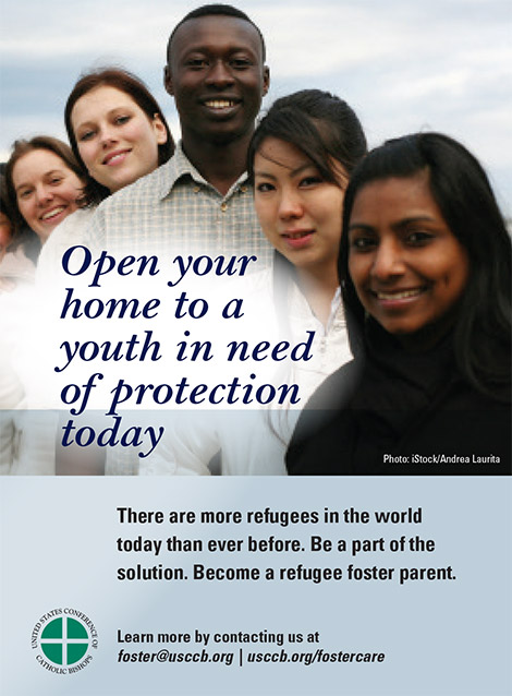 Learn how you can make a life-changing decision for you and the life of a #refugee youth by learning about our foster care program.For more information visit http://www.usccb.org/fostercare  today or email our team: foster@usccb.org!