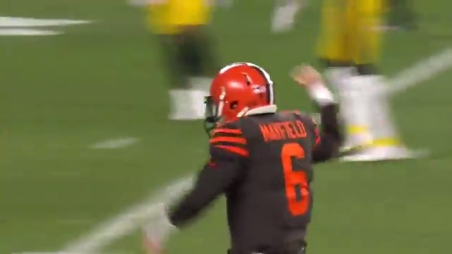 🤣🤣 @bakermayfield was every @Browns fan on that deep pass to @obj