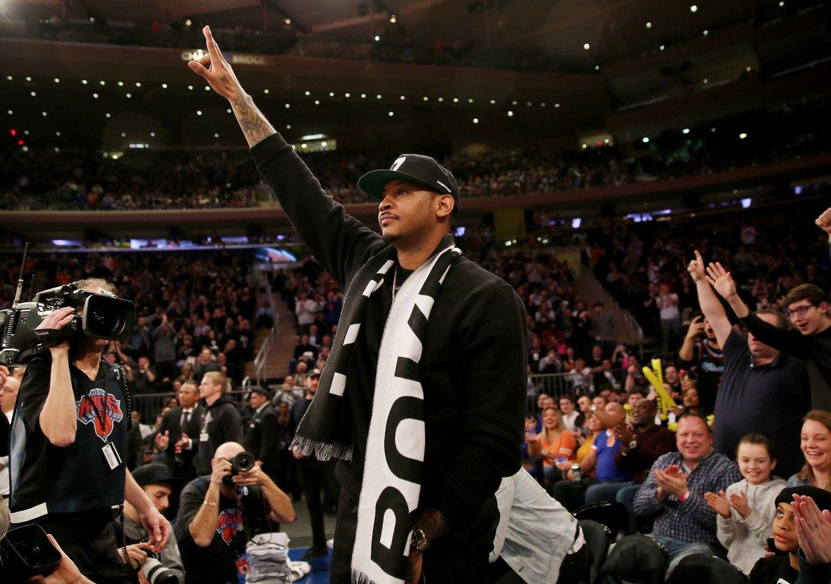 Carmelo Anthony to Blazers. bit.ly/2QhQsCa