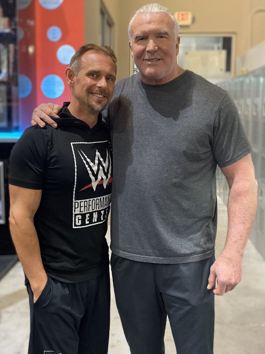 """Scotty 2 Hotty on Twitter: """"With Scott Hall outside of the Boston ..."""
