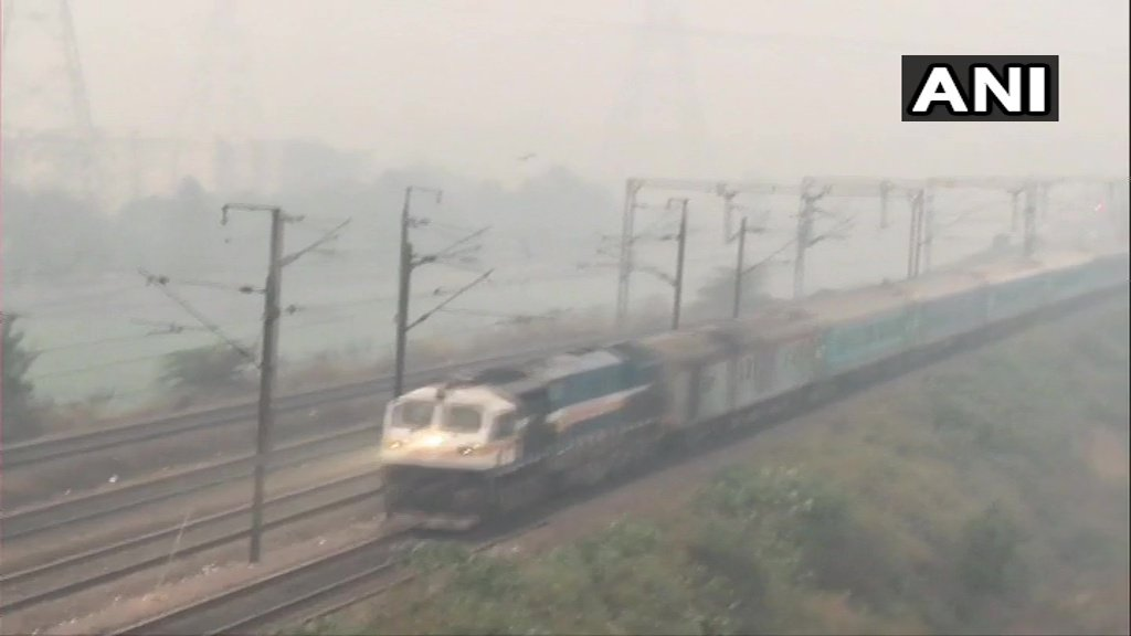 Air quality in Ghaziabad and Noida remains in 'Severe' category; schools in Ghaziabad and Noida are closed due to rising pollution levels.