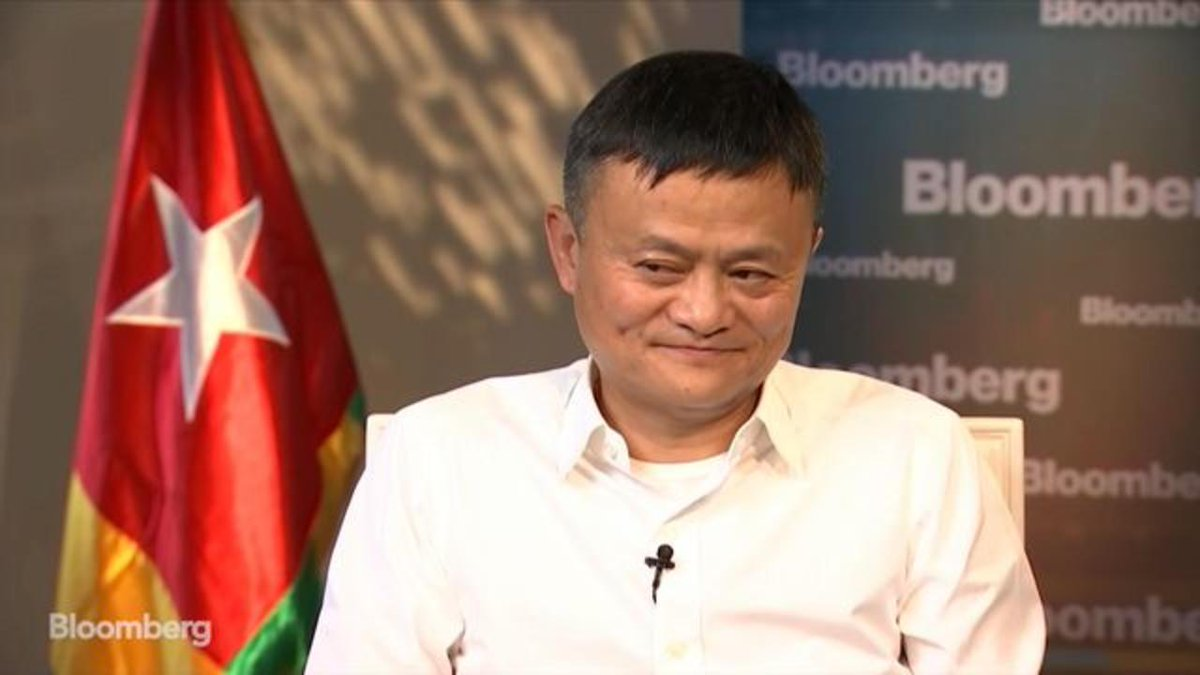 Image for the Tweet beginning: Billionaire Jack Ma says the