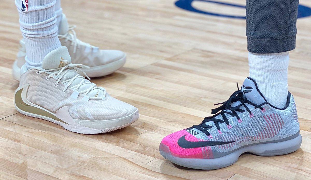 Left (@JVando) or Right (@TCraig_23)?  #NBAKicks #MileHighBasketball