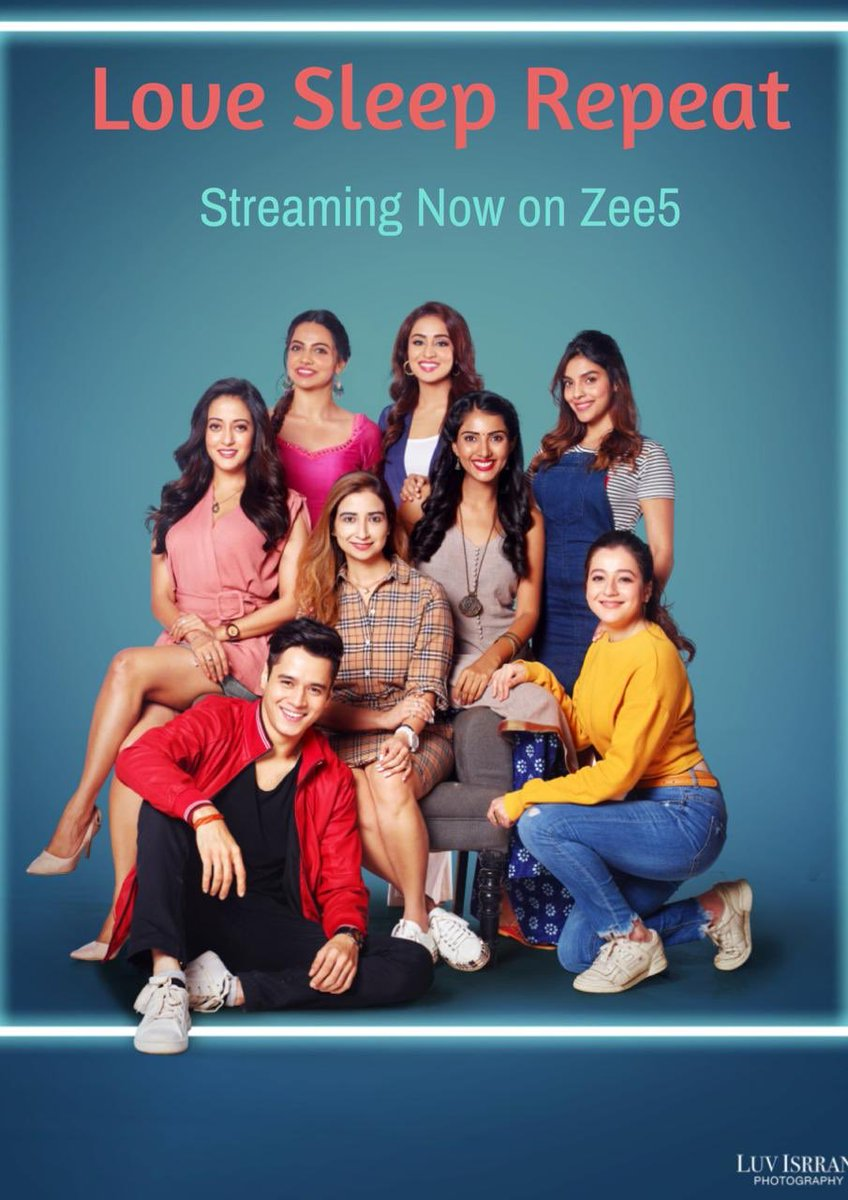 Have you watched #LoveSleepRepeat yet? Streaming now on @zee5premium. @rstfofficial @tarunkatial