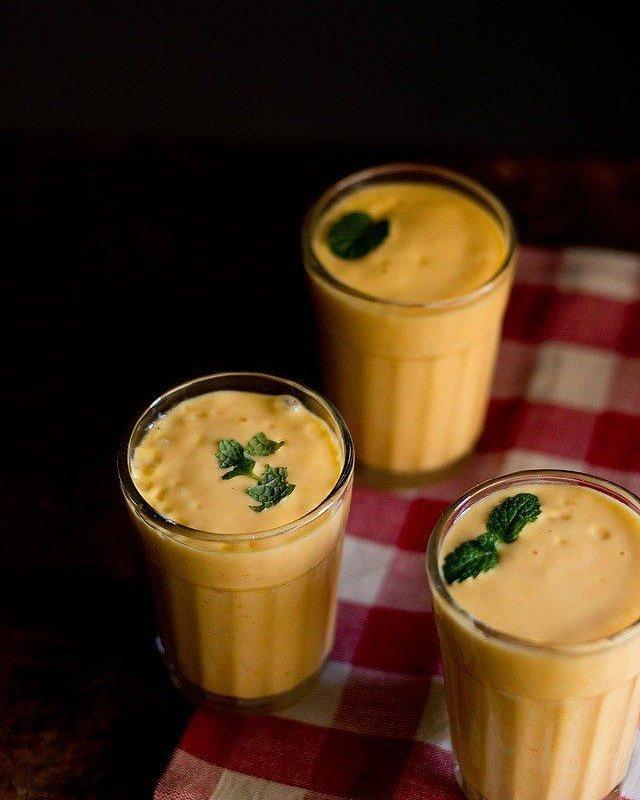Mango lassi🍋🥛#shakes #foodie #foodporn #food  #delicious #milkshakes #love #desserts #yummy #foodgasm #smoothies #icecream #foodies #indianfood #chocolate #dessert #shake #nutrition #waffle #milkshake #like #cafe #bhfyp #bhfyp