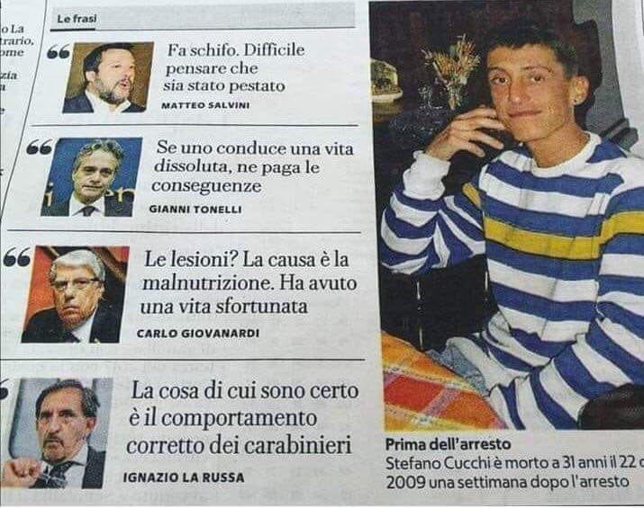 #StefanoCucchi