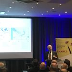 Image for the Tweet beginning: CEO James Menzies presenting at