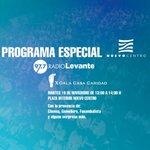 Image for the Tweet beginning: Este martes especial #FestivalRadioLevante desde
