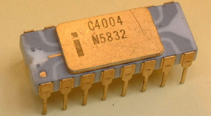 test Twitter Media - #OnThisDay in #tech (1971) The first #advertisement for a microprocessor, the #Intel 4004, appears in the journal Electronic News. The chip was designed by a four-person team at Intel.  #technology #History https://t.co/Saix9LCsQ6