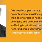 We welcome the GMC's report into doctors' wellbeing published today. There are some challenges in it for Wales as 19% of doctors report being bullied & only 36% believe their organisation will help with work life balance. Wellbeing of doctors is vital to ensure good patient care.