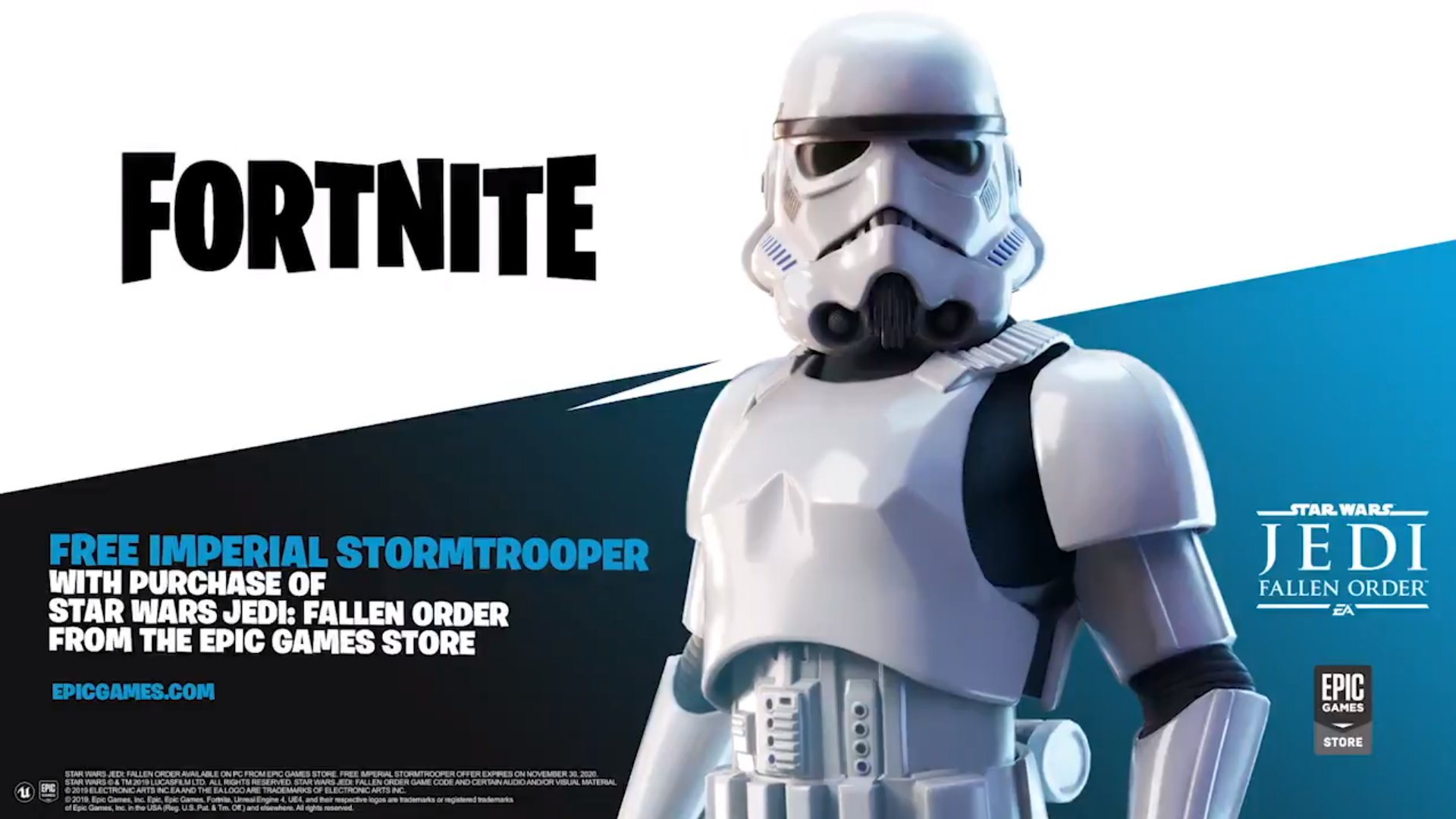 Lucas7yoshi Fortnite Leaks On Twitter Purchasing Star Wars Jedi Fallen Order In The Epic Games Store Will Grant You The Skin For Free Use This Link To Support Me Or Enter