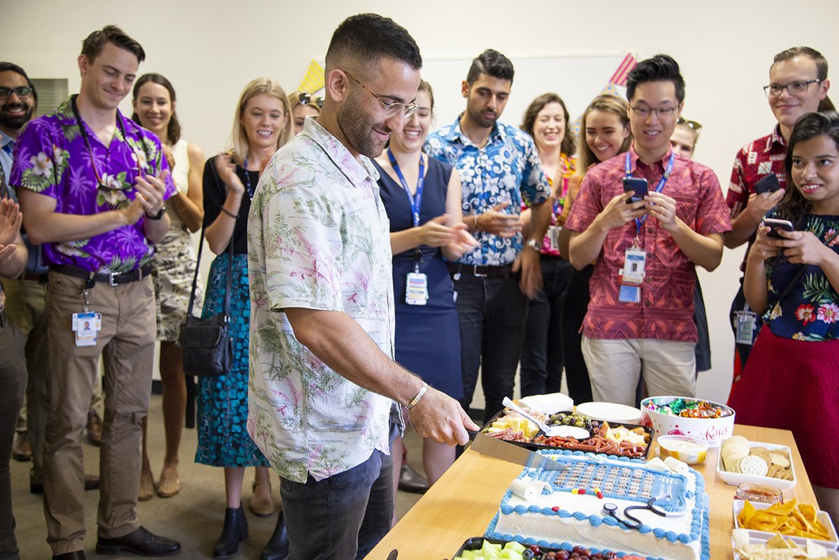 Today we say goodbye to our sixth year medicine students at the Cairns Clinical School. It's being a pleasure to guide you through the world of medicine. All the best in your Intern year and the rest of your career!  #JCUMedicine #EveryoneDeservesADoctor #MakingRuralHealthMatter