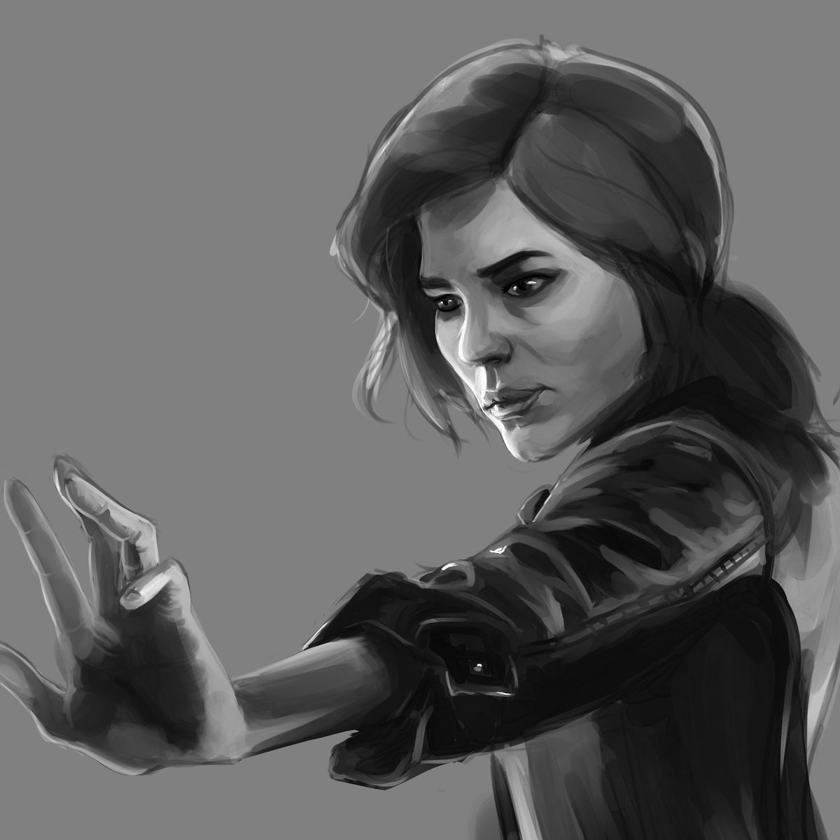 Stunning piece of Control fan art, by Max Rogers! 🎨 Nice one, @MaxRogersArt... #FanArtFriday #ControlRemedy #505Games