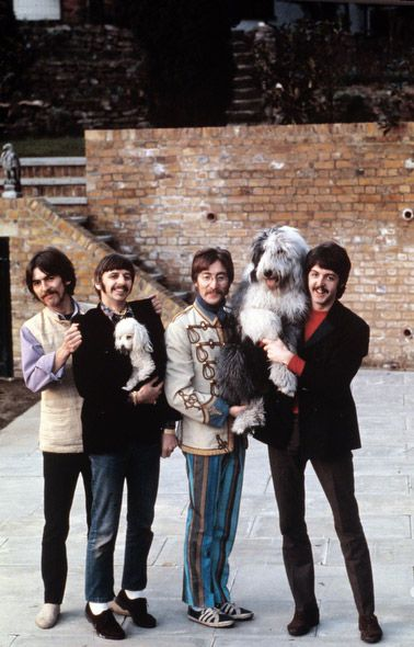 #TheBeatles posing for Life Magazine, 1967