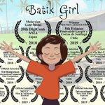Image for the Tweet beginning: This Malaysian Batik Animated Film