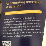 Image for the Tweet beginning: Thanks Singapore Airlines Accelerator #Krislab