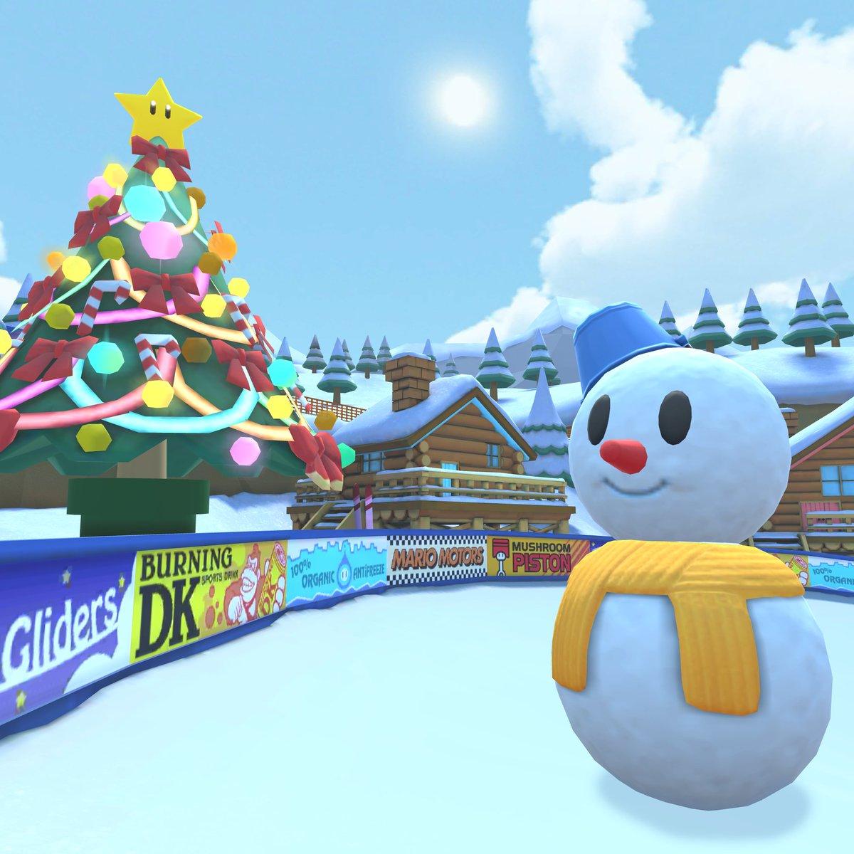 test ツイッターメディア - マリオカートツアーにも冬が近づいてきた! いよいよ今年も終盤戦! 次回!「ウィンターツアー」は11/20開幕!#マリオカートツアー https://t.co/pPhLV5KVJu