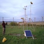 Image for the Tweet beginning: The first cost-effective #GNSS station