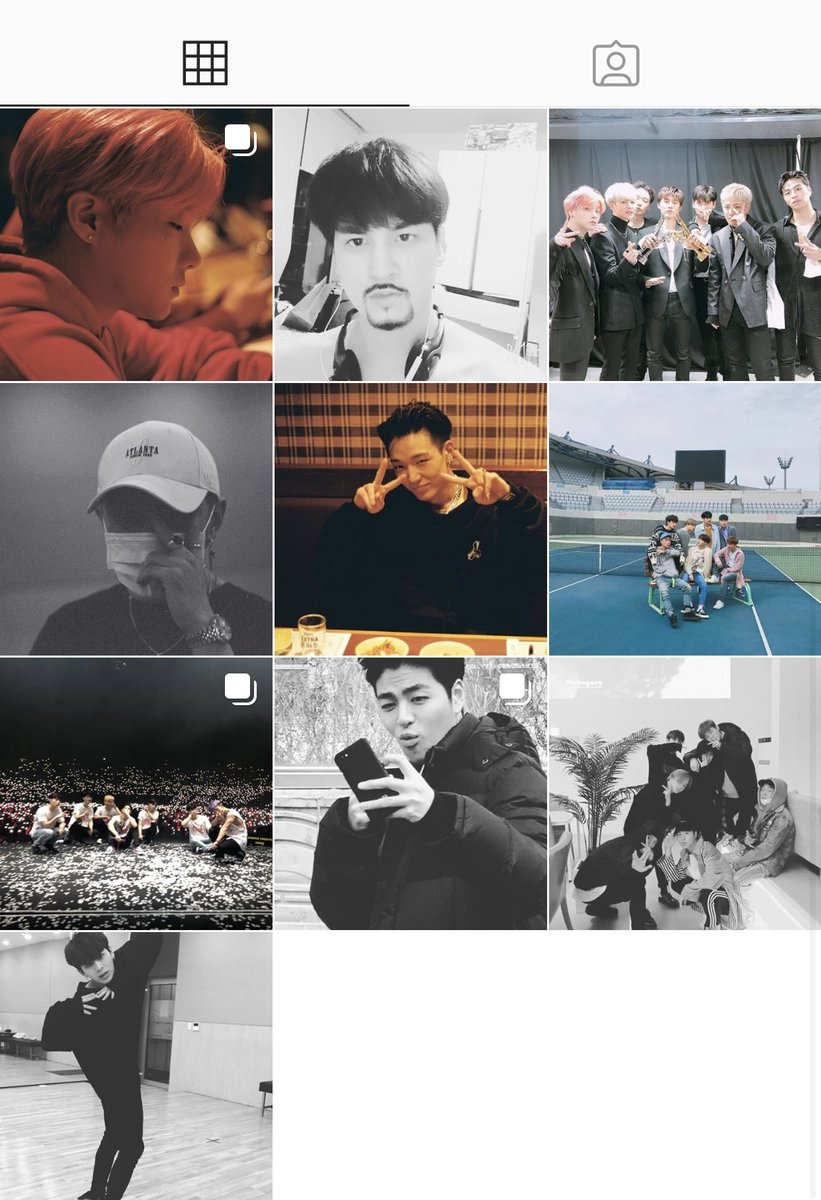 HANBIN IS ACTIVE ON INSTAGRAM HE DELETED ALL THE PICS AND KEPT ONLY THE ONES WITH THE MEMBERS <br>http://pic.twitter.com/5mTjl44QGB
