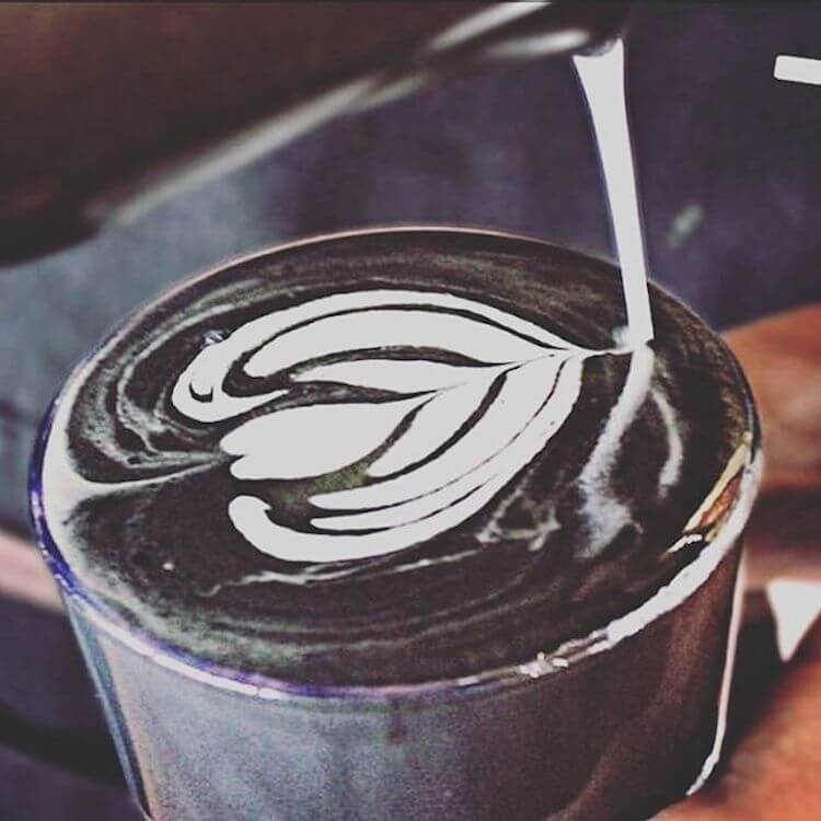 ist black latte getränk gesund zum abnehmen
