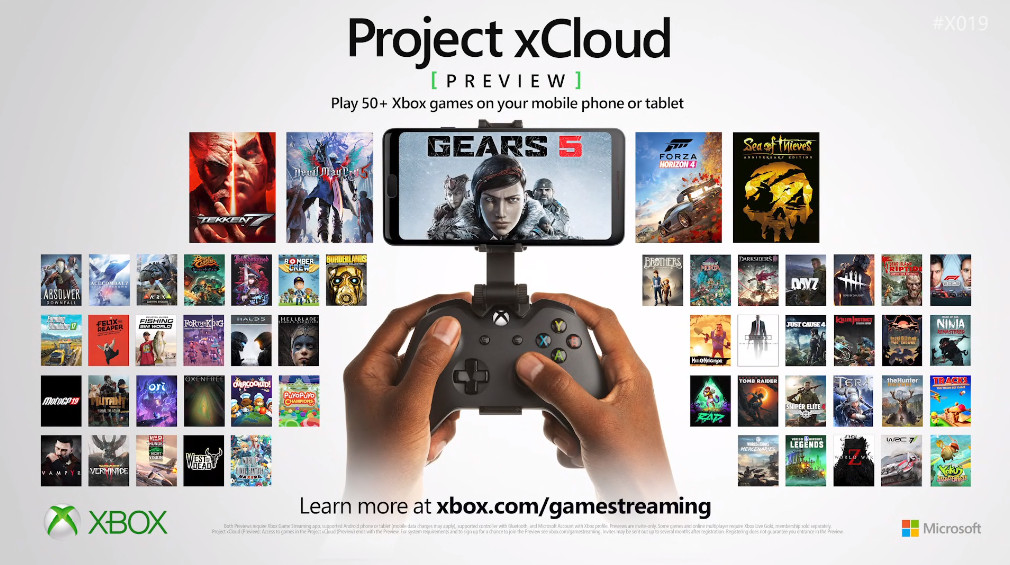 Microsoft's xCloud preview now has 50 new games, more than Stadia's launch list  https://www. theverge.com/2019/11/14/209 64411/microsoft-project-xcloud-new-games-list-50-games-support?utm_campaign=theverge&utm_content=chorus&utm_medium=social&utm_source=twitter   … <br>http://pic.twitter.com/h52hZHn33j