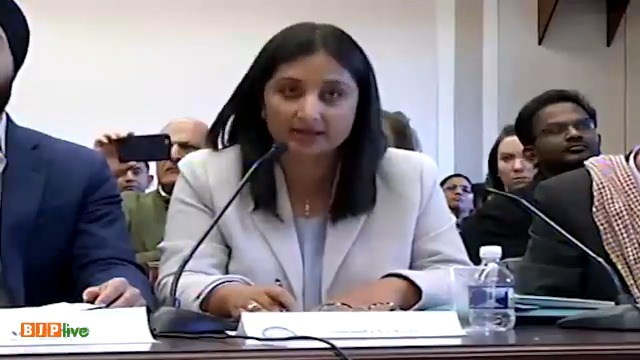 'Where were the advocates of human rights when my rights were taken away?' asks noted columnist Sunanda Vashisht at the US Congressional hearing on Human Rights in Washington.'Abrogation of Article 370 is in fact a restoration of human rights', she says. A must watch.