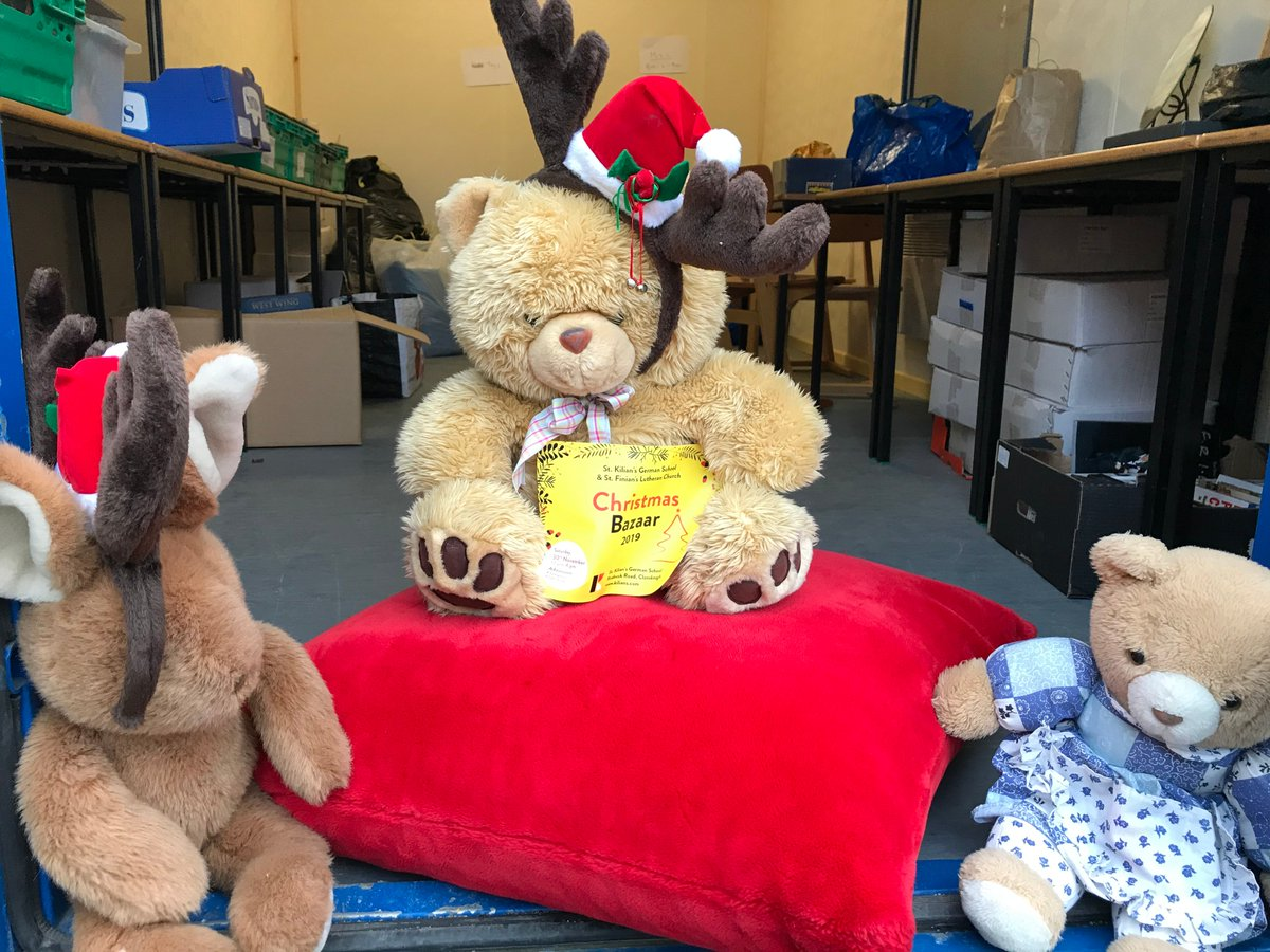 test Twitter Media - Feeling very festive as we collect donations for the Christmas Bazaar. Keep the toys, gifts for Tombola and books and bric-c-brac coming. Volunteers welcome for sorting and organising! PLEASE! #ChristmasBazaar @BotschaftDublin @annetteblack6 @msbarry1A @msjames1B https://t.co/qXG4OEfaIu