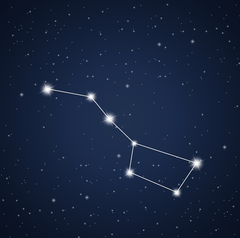 или картинки большой медведицы звезды нас всеми