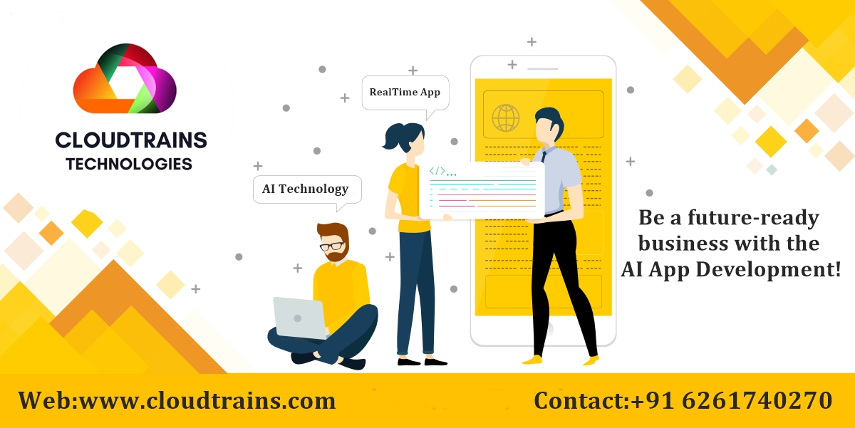 CloudTrains:  We are constantly digging into finding as well as creating solutions, such as mobile apps, and infusing them with the high-end AI capabilities.#mobileappdevelopment #artificial_intelligence