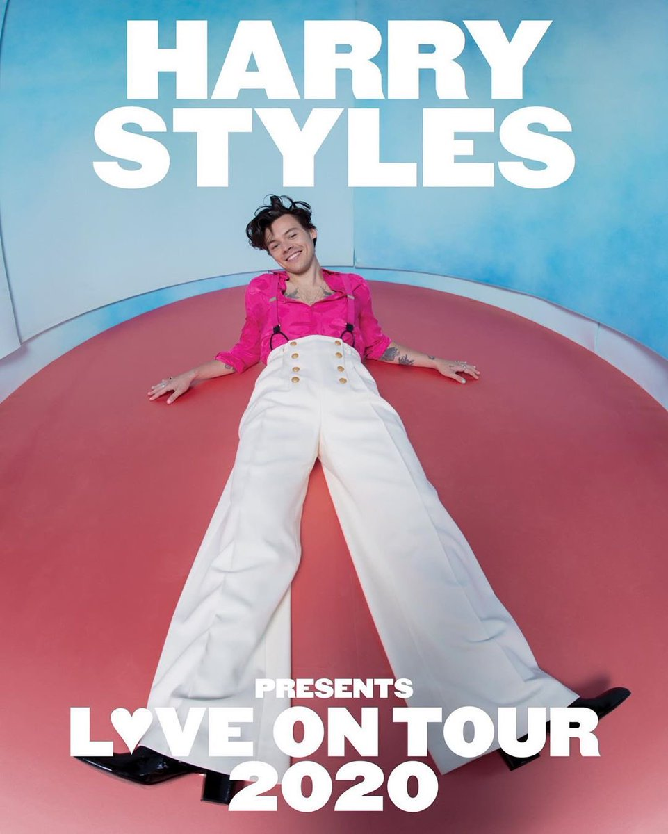 LOVE ON TOUR 2020. ON SALE NOW.  NEW DATES: NEW YORK - ATLANTA - ORLANDO & LOS ANGELES ON SALE NEXT WEEK. hstyles.co.uk/tour
