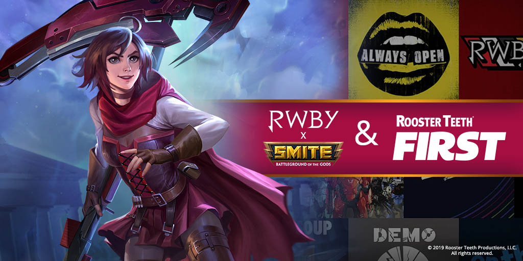 Smite On Twitter Listen Up Officialrwby Fans Tweet Your