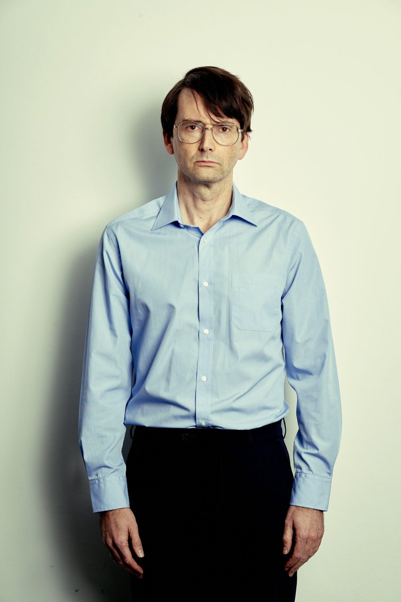David Tennant as the serial killer Dennis Nilsen from the new ITV drama Des