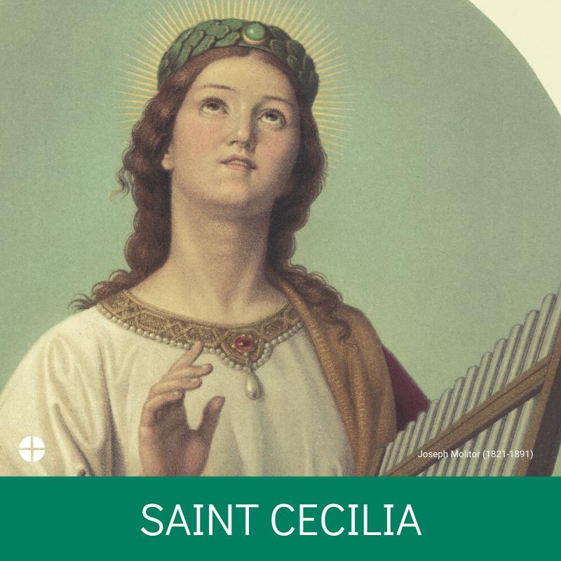 @USCCB's photo on St. Cecilia