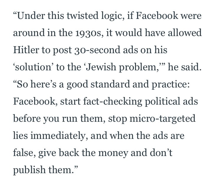 More from Baron Cohen: