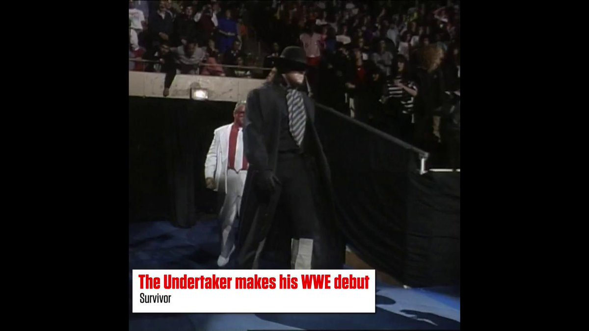 The bell tolled for the first time 2️⃣9️⃣ years ago today... #Undertaker