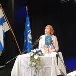 Image for the Tweet beginning: Kokoomusnuorten liittokokous käynnissä Otaniemessä. Ilo