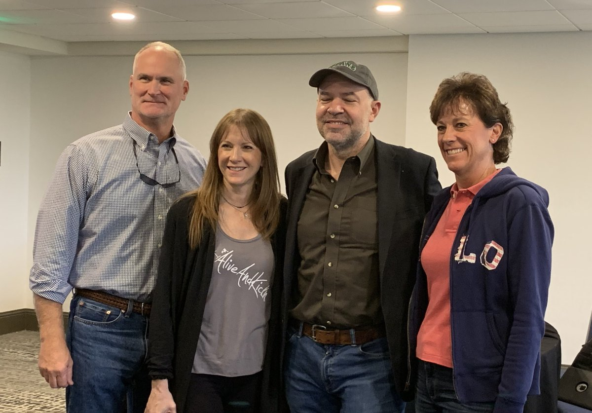 """Thank you to @FoundationATCG for their support of our """"Living with Lynch: Stories. Outreach. Collaboration. Education."""" event this past weekend in Houston. #LivingwithLynch @AliveAndKicknDD"""