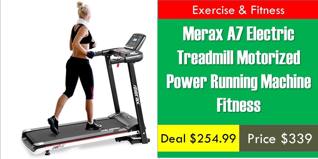 Merax A7 Electric Treadmill Motorized Power Running Machine Fitness     https:// bit.ly/35rBqOF      #treadmill #treadmills #treadmillrun #treadmillfun #treadmillruns #treadmilllife #treadmilltime #treadmilllove #treadmillwork #treadmillmurah #treadmillgoals #treadmilllover <br>http://pic.twitter.com/W18mVgTZhH