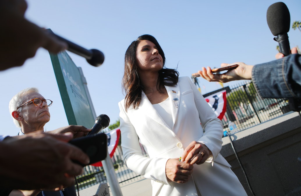 New York Times Style Critic: Tulsi Gabbard Looks Like A Cult Leader In Her White Suits dlvr.it/RJsbXg