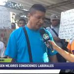 Image for the Tweet beginning: #22Nov | Trabajadores exigen mejores