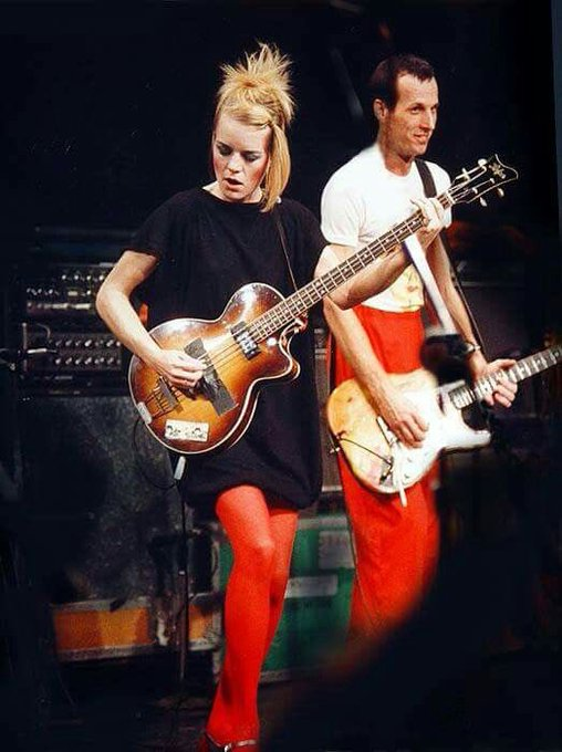 Happy Birthday to Tina Weymouth of Talking Heads!