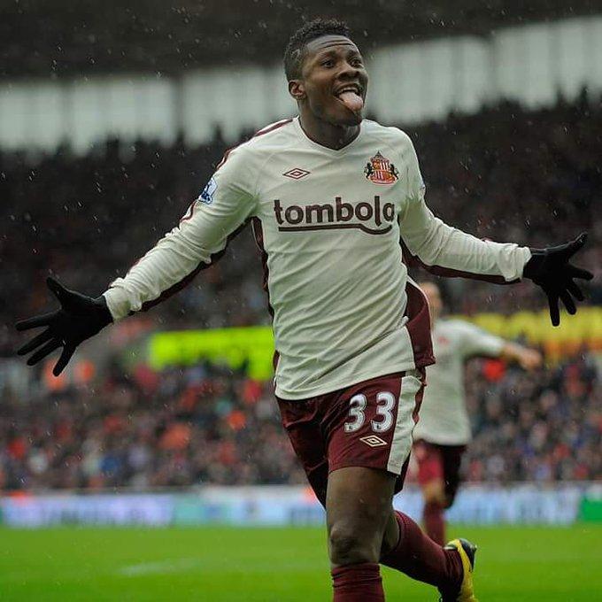 Happy birthday to two of Africa\s greatest strikers Yakubu Ayegbeni and Asamoah Gyan!